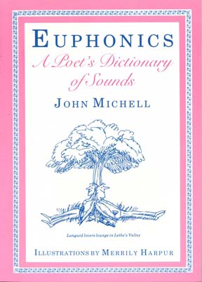 ook cover for Euphonics: A Poet's Dictionary of Sounds