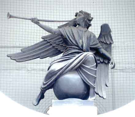 'Herald' by William Reid Dick 1939 at the Press Association Building